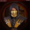 Mortal Kombat X Scorpion Lifesize Bust From Pop Culture Shock