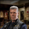 Sons of Anarchy Jax Teller & Clay Morrow  1:6 scale Figure Images