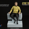 Star Trek TOS Captains Chair 1/6 Scale Replica From Quantum Mechanix
