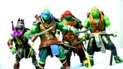 Teenage Mutant Ninja Turtles 2014 Movie 11 Inch Figures Video Review & Images