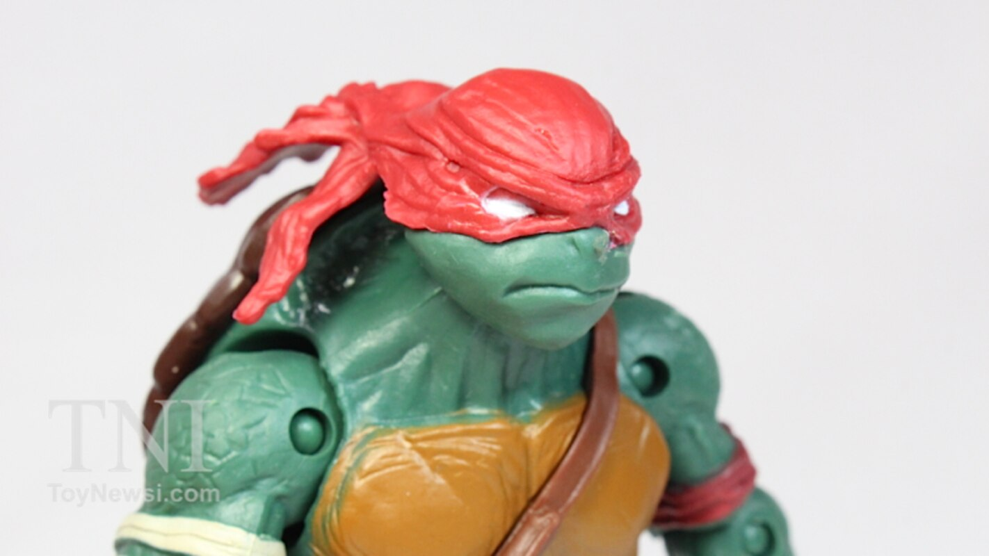 2014 Tmnt Movie Raphael Basic Figure Video Review Images
