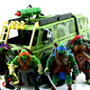 Teenage Mutant Ninja Turtles 2014 Movie Turtle Assault Van Video Review & Images