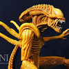 2017 SDCC Exclusive Aliens Sewer Mutation Warrior Alien Figure Video Review & Image Gallery