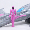 2017 Power Rangers Movie Pterodactyl With Pink Ranger Battle Zord Video Review & Images