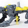 Power Rangers 2017 Movie Sabertooth Battle Zord and Yellow Ranger Figure Video Review & Images