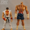 Street Fighter 4 inch Action Figure - Ryu vs. Sagat