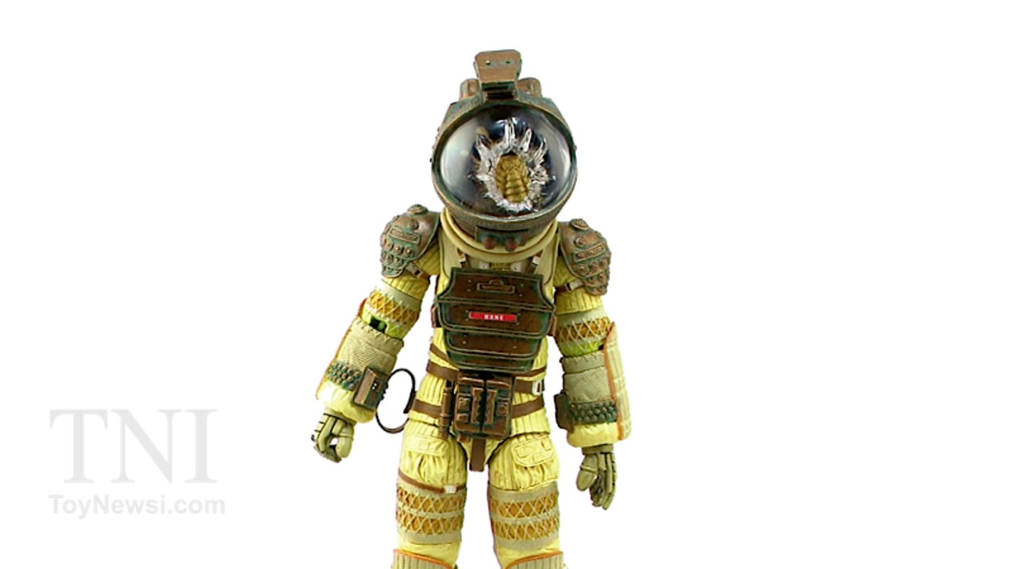 NECA Toys Alien Kane Figure Video Review & Images