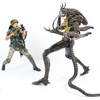 NECA Aliens Private William Hudson and Xenomorph Warrior 2-Pack Action Figure Video Review & Images