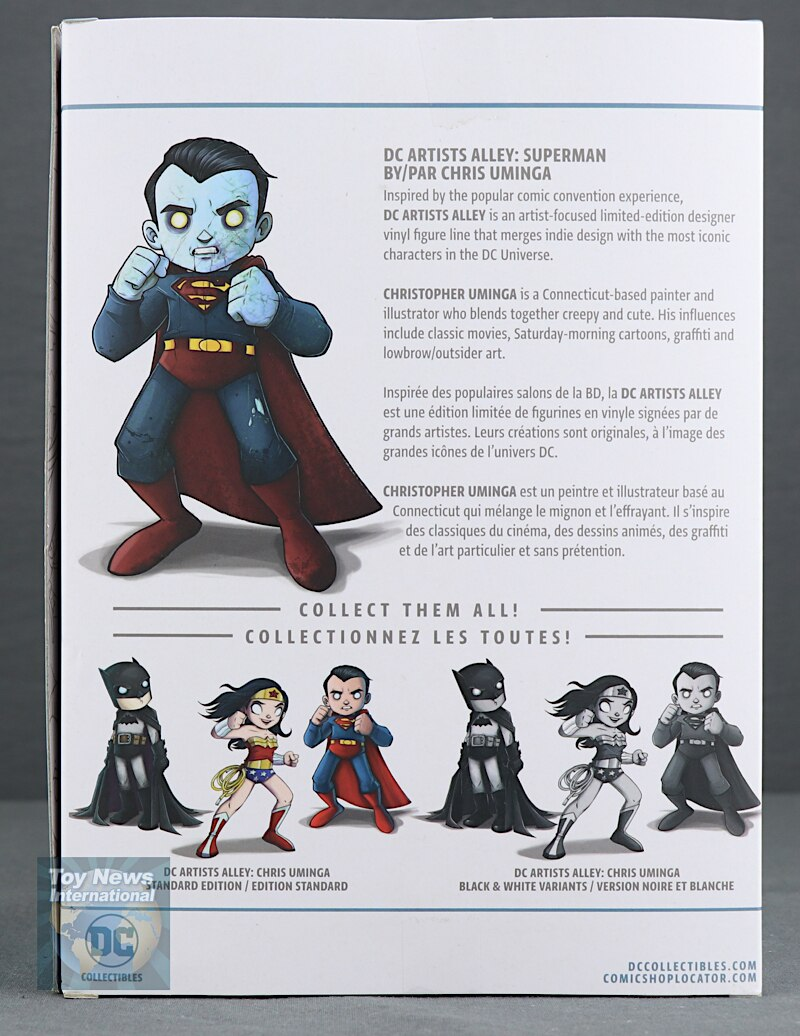 DC Collectibles Artists Alley Chris Uminga Zombie Edition
