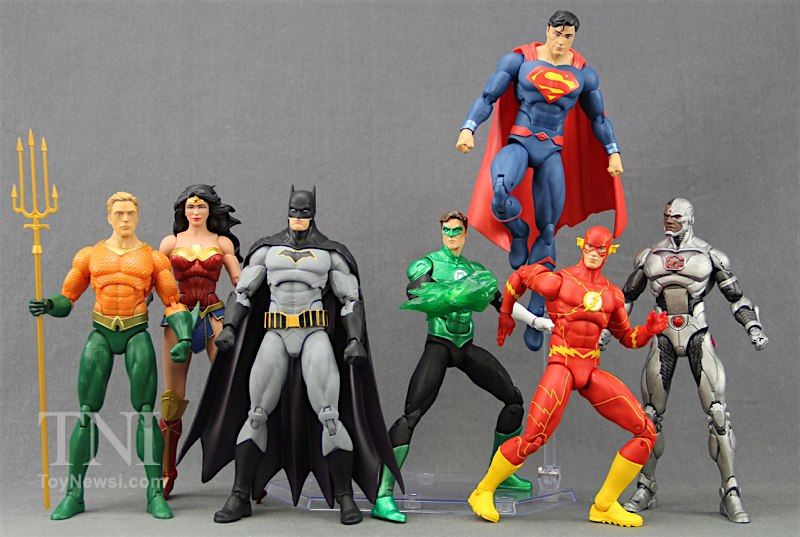 justice league of america toys action figures and - 800×537