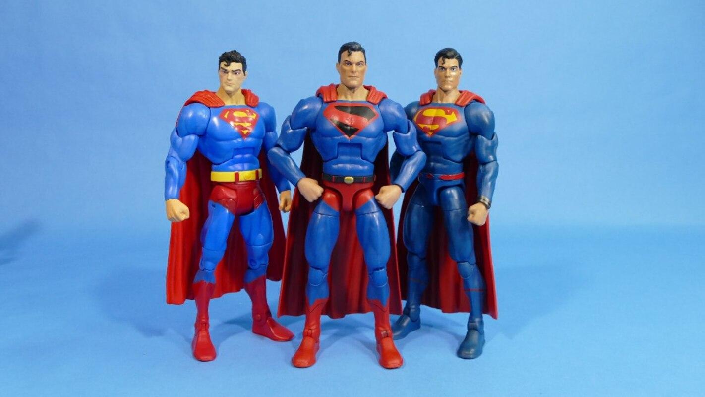 "DC Multiverse Kingdom Come Superman 6/"" Figure No Lobo BAF"