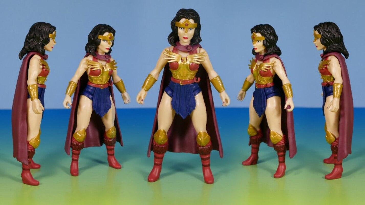 *** Mega Vente ** DC Primal âge Wonder Woman Action Figure Toy