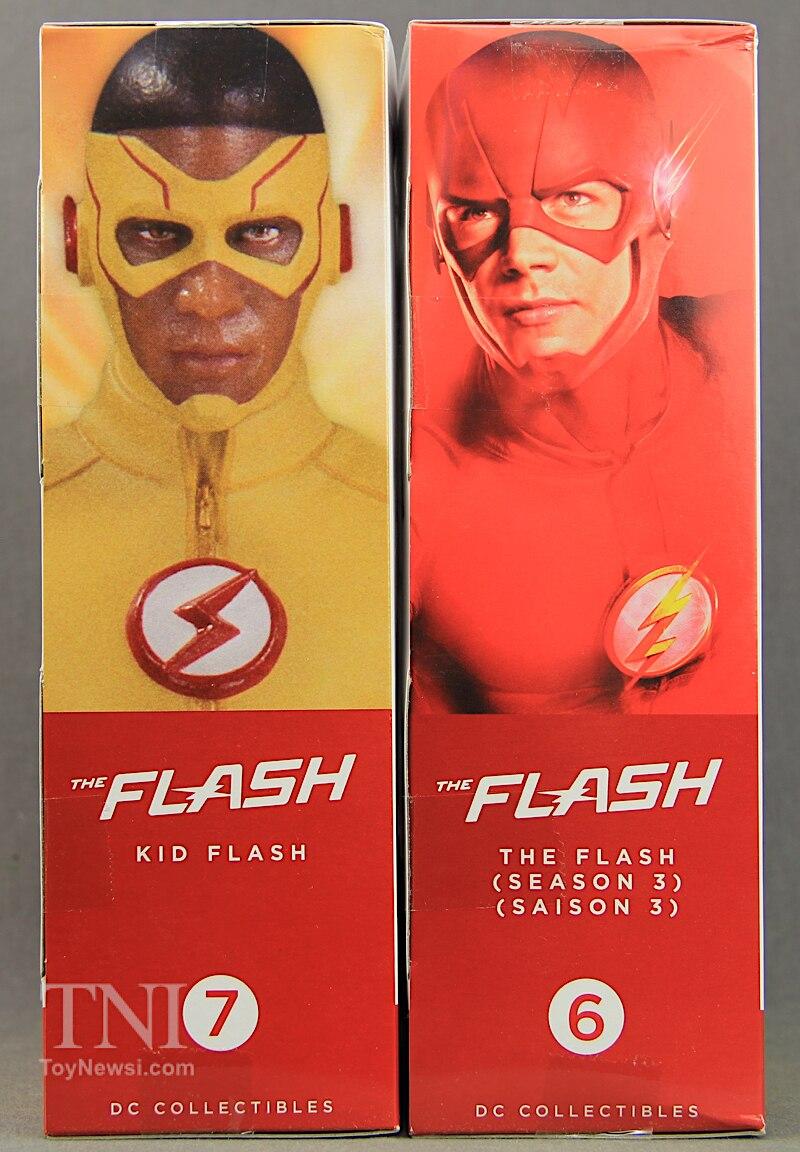 DCTV The Flash TV Series DC Collectibles Kid Flash & Season