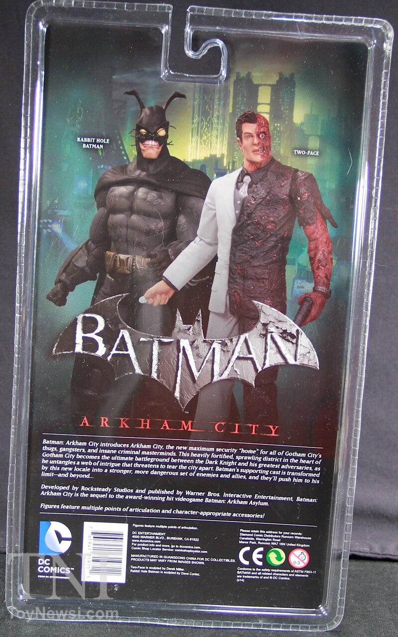 DC Collectibles Batman: Arkham City Two-Face Figure Review