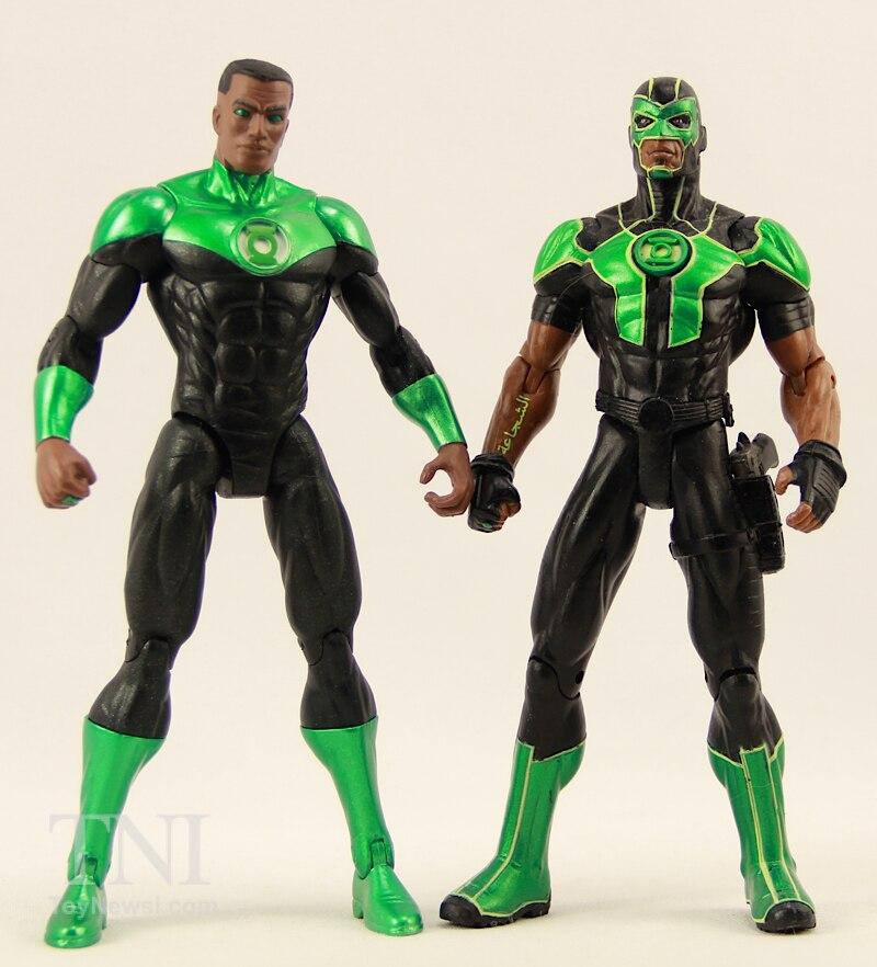 DC Comics NEW 52 John Stewart Green Lantern Action Figure