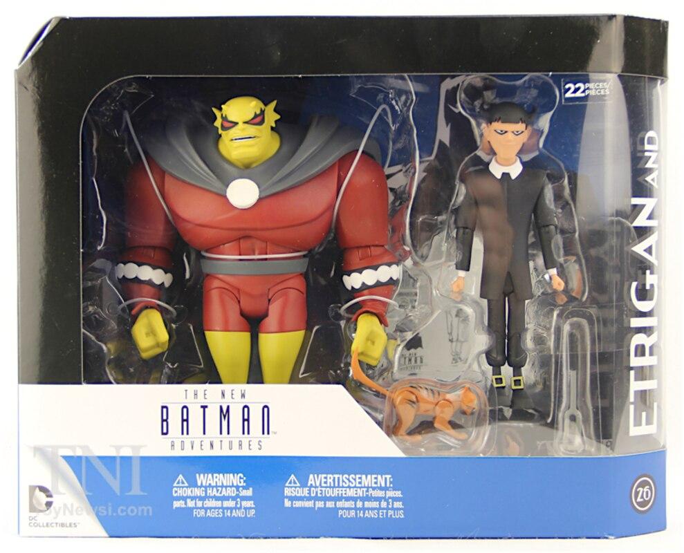 The New Batman Adventures ETRIGAN and KLARION Action Figures New Free Post