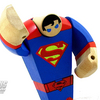 DC Collectibles Painted Wooden Superman Figure Video Review  & Images
