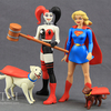 DC Comics Designer Series Darwyn Cooke Supergirl & Harley Quinn Figures Video Review & Images