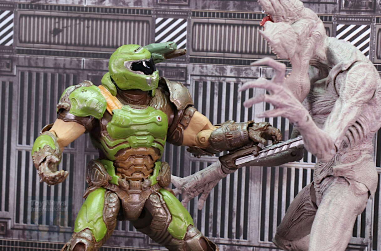 Doom Eternal 7 Doom Slayer Figure Video Review And Images
