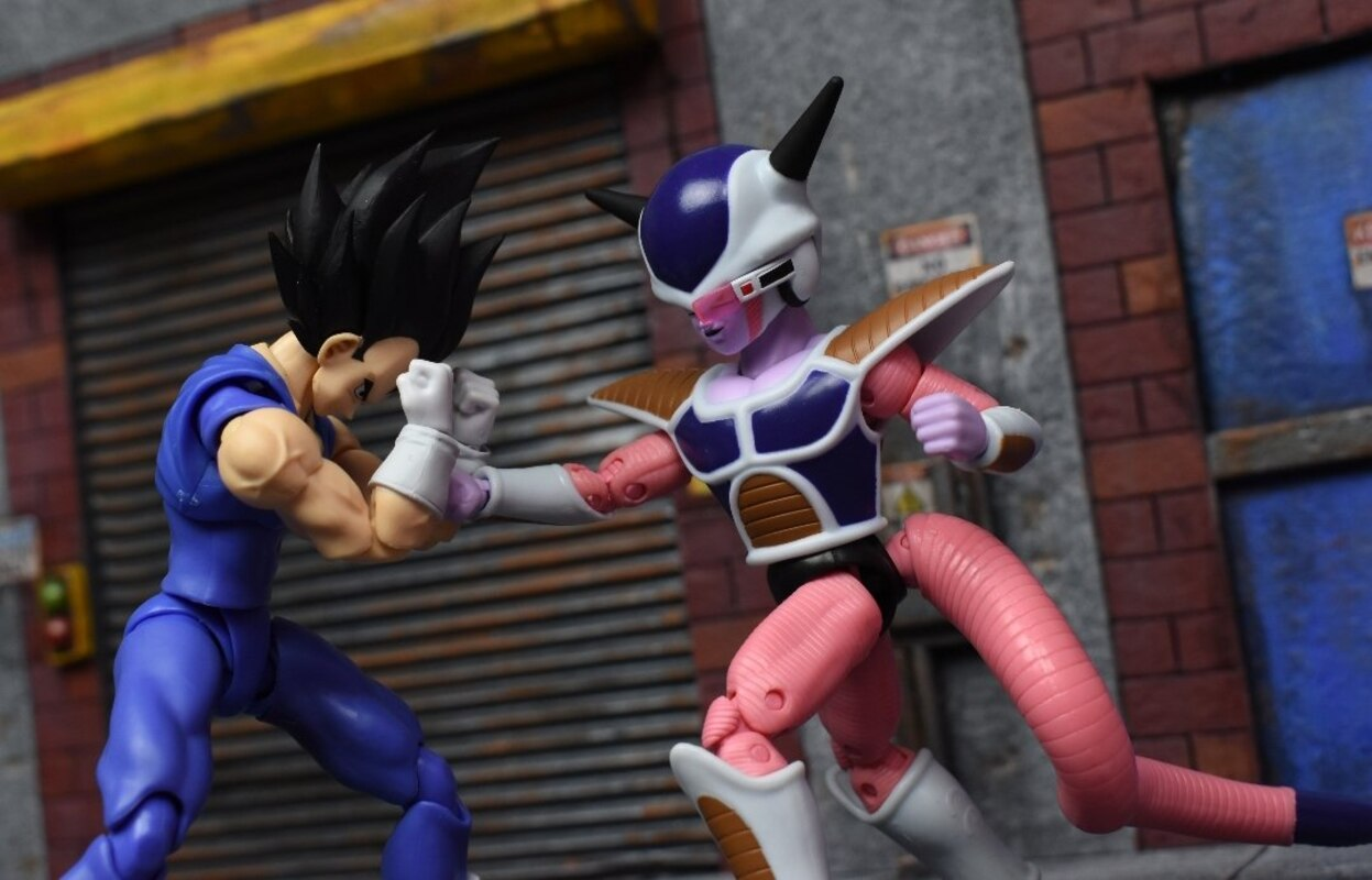 Dragon Ball Dragon Stars First Form Frieza Figure Video Review Images