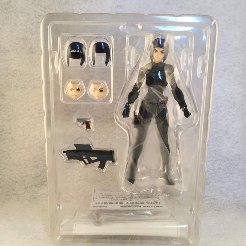 Figma Ghost In The Shell Motoko Kusanagi Figure Video Review Images