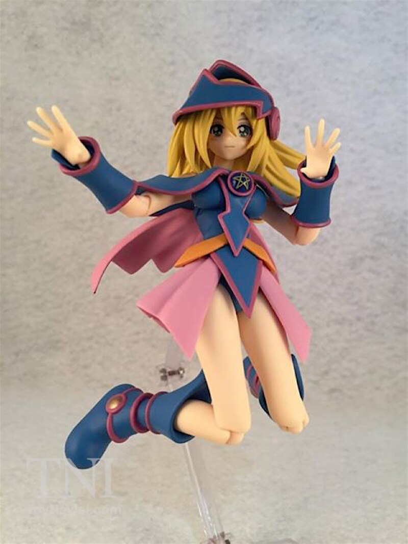 Yu-Gi-Oh Black Magician Girl Figma Figure Video Review -5919