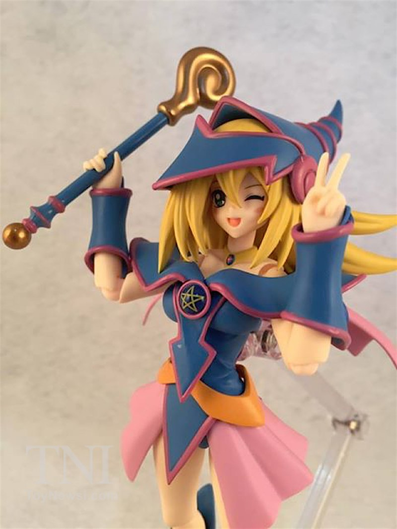 Yu-Gi-Oh Black Magician Girl Figma Figure Video Review -8456