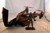 G.I. Joe Black Dragon VTOL Cobra vehicle with Cobra Air Trooper
