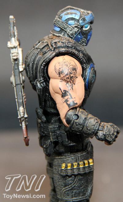 Gears Of War 3 Carmine Tattoo