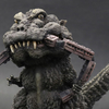 Godzilla (Train in Mouth) DefoReal Series Figure From X-Plus