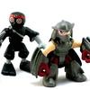 Teenage Mutant Ninja Turtles Half-Shell Heroes Shredder & Foot Solider Video Review & Images