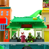 Teenage Mutant Ninja Turtles Half-Shell Heroes Super Sewer HQ Playset Video Review & Images