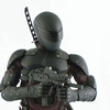 Hot Toys G. I. Joe Retaliation Snake Eyes Movie Masterpieces 1/6 Figure Video Review & Images