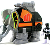 Imaginext Mighty Morphin Power Rangers Mastadon Zord & Black Ranger Video Review & Images