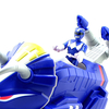 Imaginext Mighty Morphin Power Rangers Triceratops Zord & Blue Ranger Video Review & Images