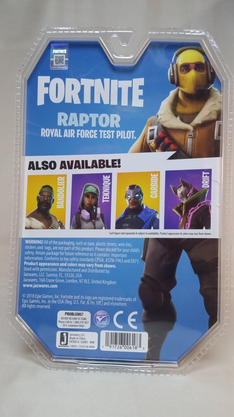 Jazwares Fortnite 4 Figures Video Review Images