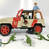 Mattel Jurassic World Legacy Collection Jeep Wrangler Video Review & Images