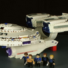 Star Trek Kre-O USS Enterprise Set Video Review & Images