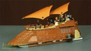 LEGO Star Wars Jabba's Sail Barge Set #75020 Set Video Review & Images