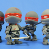 Loyal Subjects Teenage Mutant Ninja Turtles Battle Damaged & Stealth Action Vinyls Video Review & Images