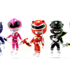Loyal Subjects Mighty Morphin Power Rangers Action Vinyls Mini Figures Unboxing and Video Review