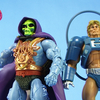 Masters of the Universe Classics Laser Power He-Man & Laser Light Skeletor Figure Video Review & Images