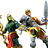 Masters of the Universe Classics Snake Armor He-Man vs Battle Armor King Hsss Figures Video Review  & Images