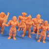 M.O.T.U.S.C.L.E. Masters of the Universe MUSCLE Mini Figures Video Review & Images