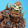 Masters of the Universe Beastman 1/4 Scale Cold Cast Bust Video Review & Images