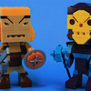 Kubros He-Man and Skeletor Mega Bloks Building Block Figures Video Review & Images