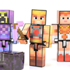 Minecraft He-Man Skeletor & Teela Player One Mattel Figures Video Review & Images