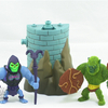 Masters of the Universe Minis Battle Armor Skeletor vs Moss Man Figures Video Review & Images
