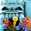 Masters of the Universe Minis Man-at-Arms vs Faker Figures Video Review & Images