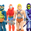 Super7 Masters of the Universe ReAction Figures He-Man Skeletor Beast Man Mer-Man Video Review